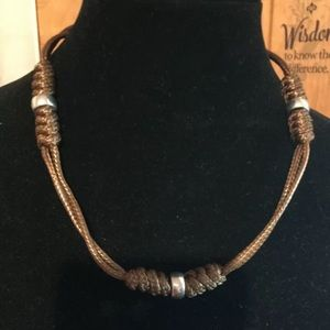 Other - 🌼3 for $10🌼 Great Basin ~ Brown Urban Necklace